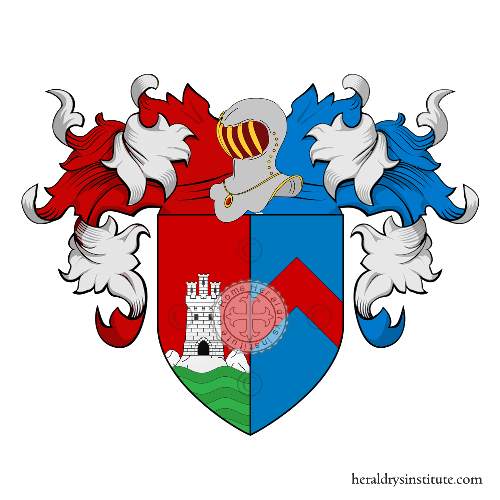 Coat of Arms of family Tomei Albiani