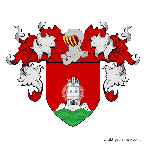 Coat of arms of family Tomei