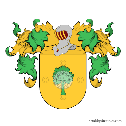 Coat of Arms of family Corvinos