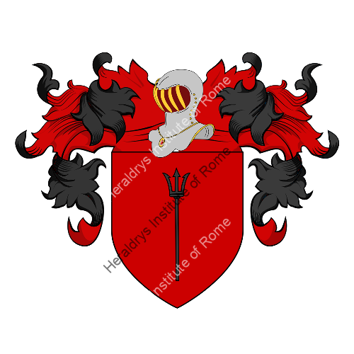 Coat of Arms of family Attimis