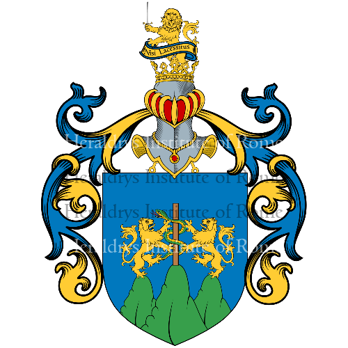 Coat of Arms of family Mastelloni