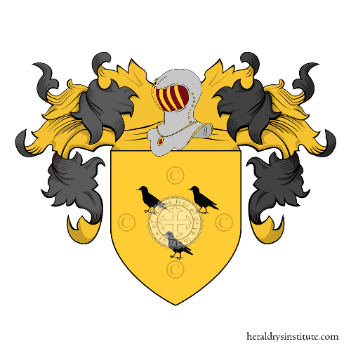 Coat of Arms of family Polini