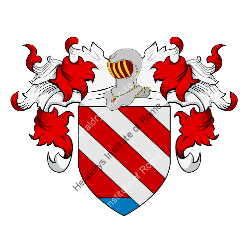 Coat of Arms of family Zannettini