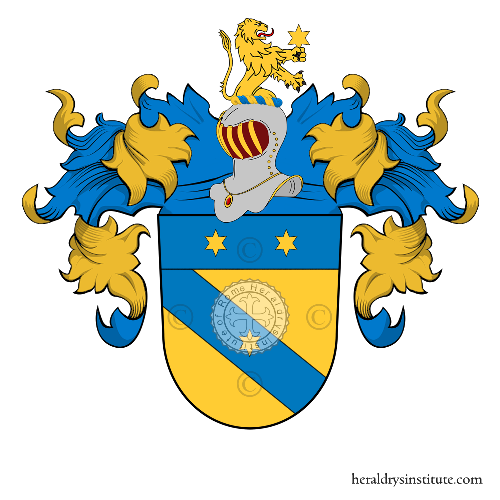 Coat of arms of family Helfand
