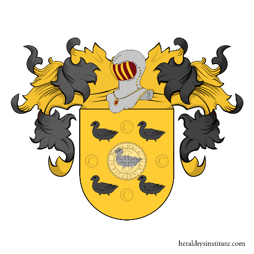 Coat of Arms of family Lemes