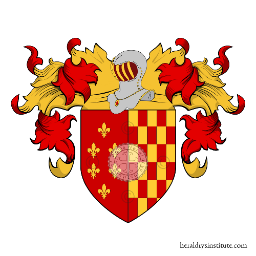 Coat of Arms of family Bartolommei