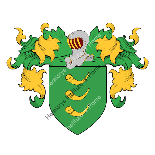 Coat of Arms of family Cotis