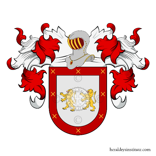 Coat of Arms of family Algarines