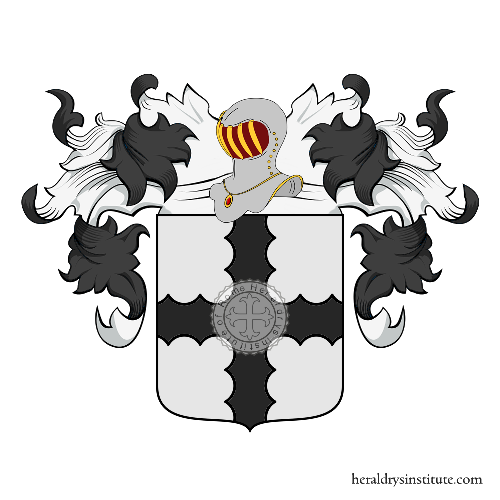 Coat of Arms of family Brarda