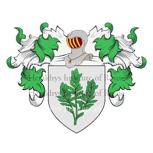Coat of Arms of family Cipponeri