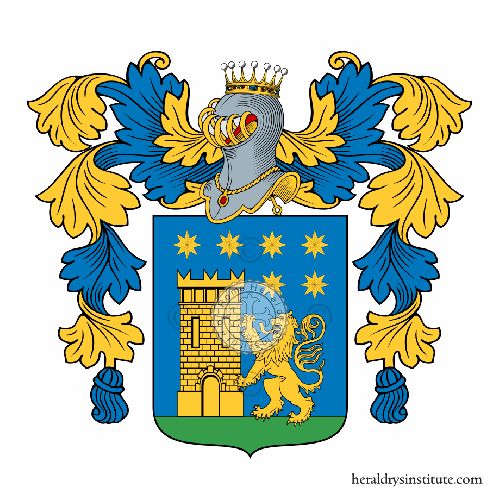 Coat of arms of family Milazzo
