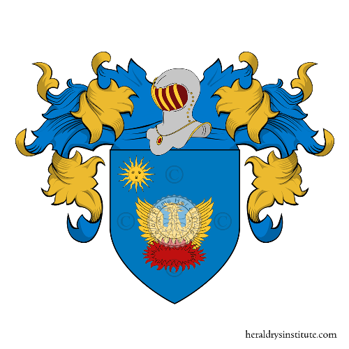Coat of Arms of family Anziani