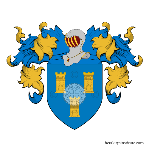 Coat of Arms of family Tourettes