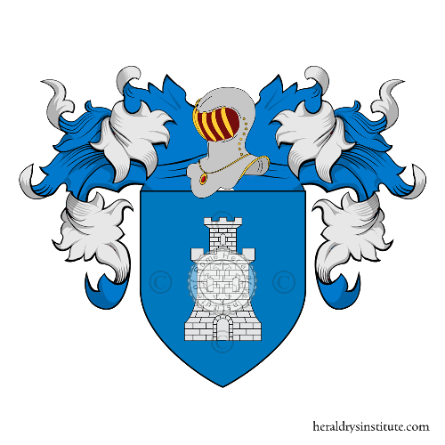 Coat of Arms of family Tourrette
