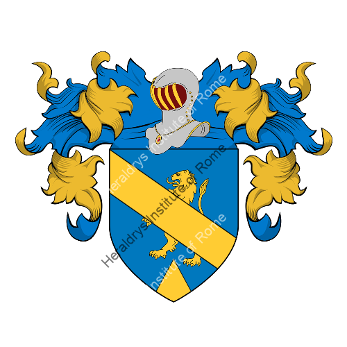 Coat of Arms of family Lallai