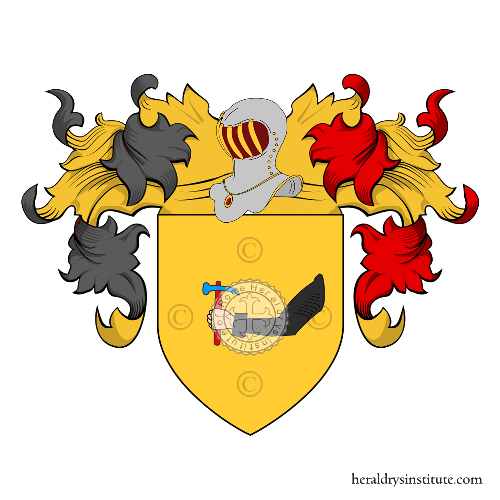 Coat of Arms of family Sorenti