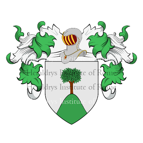 Coat of Arms of family D'Alema
