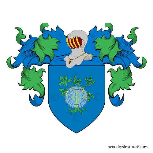 Coat of Arms of family dalla Rovere