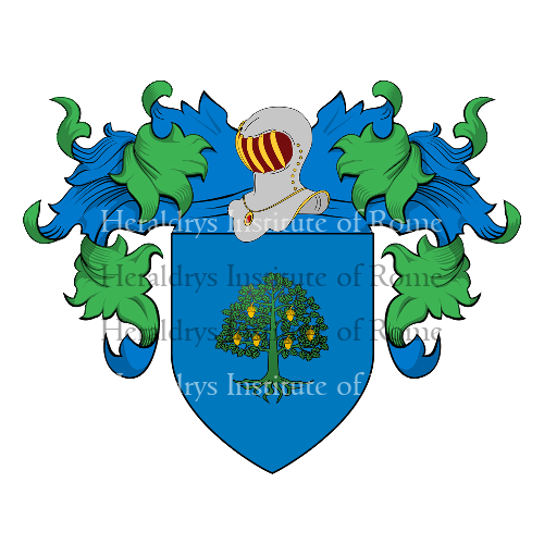 Coat of Arms of family Lalignami