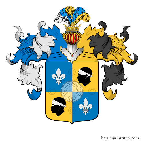 Coat of Arms of family Gozzani