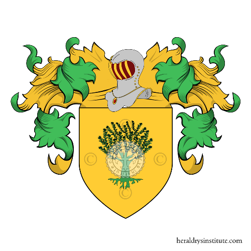 Coat of Arms of family Batoni