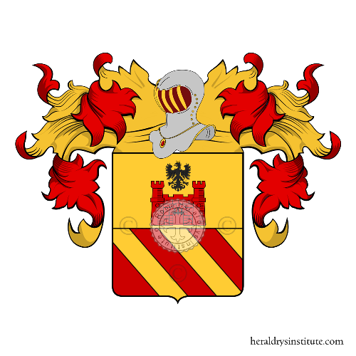 Coat of arms of family Arzago