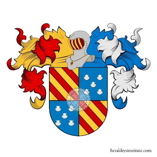 Coat of arms of family Arzaga