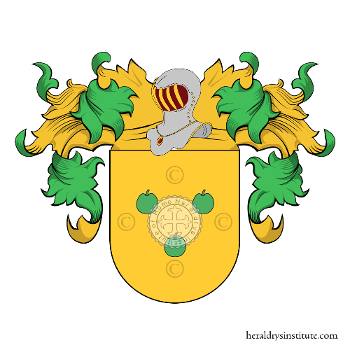 Coat of arms of family Rebelo