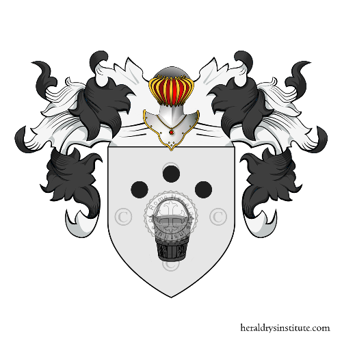 Coat of Arms of family Pilato