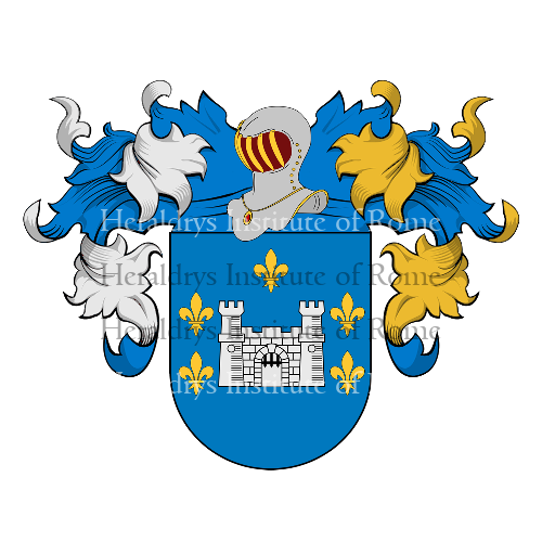 Coat of Arms of family Marañon