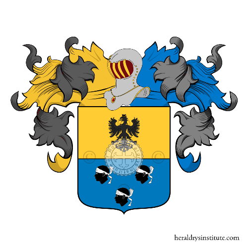 Coat of arms of family Fassini Camossi