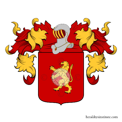Coat of Arms of family Fassina