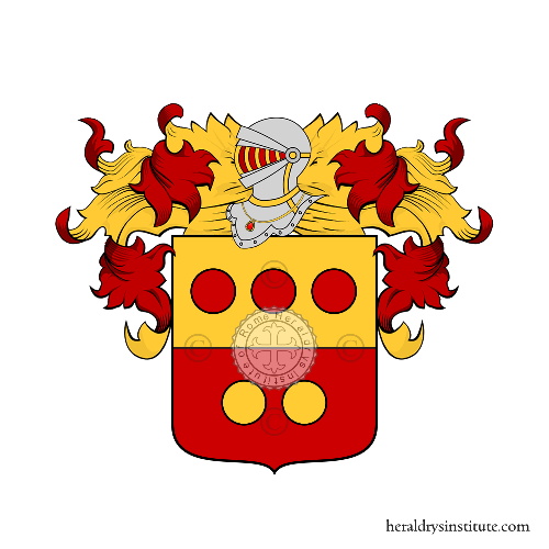 Coat of Arms of family Sbrosi
