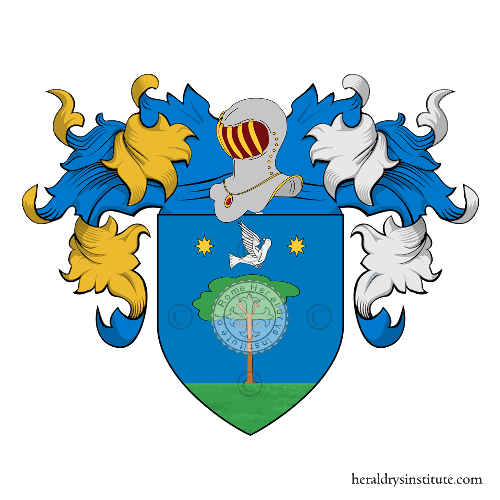 Coat of arms of family Razzi