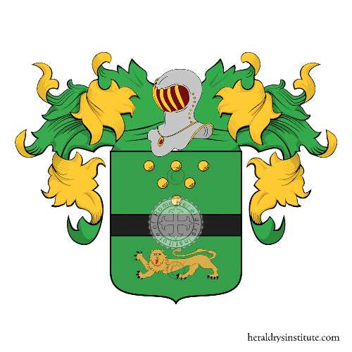 Coat of Arms of family Ferrotti