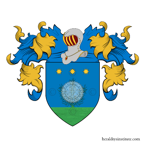 Coat of Arms of family Zucchi
