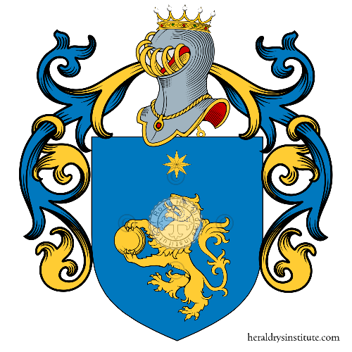 Coat of Arms of family Luchini