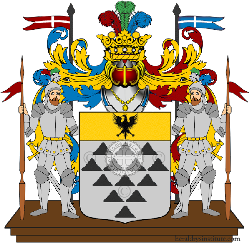 Coat of Arms of family Scolli
