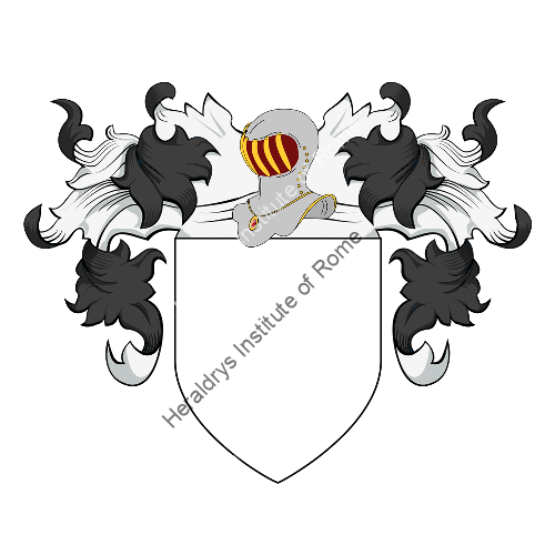 Coat of Arms of family Nuccu