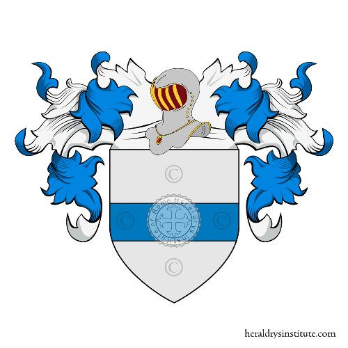 Coat of arms of family Barozzi