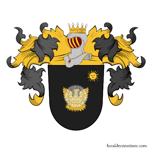 Coat of Arms of family Matthesius