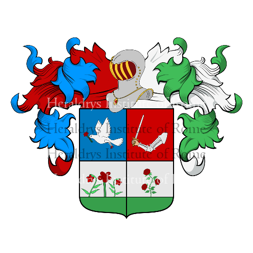 Coat of Arms of family Flores