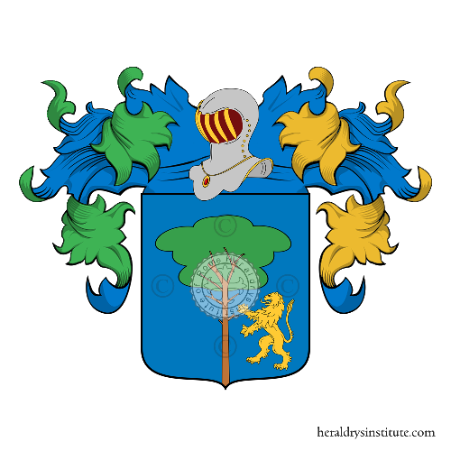 Coat of Arms of family Alfonsi