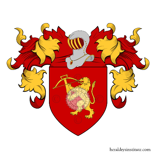 Coat of Arms of family Balestreri