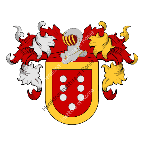 Coat of Arms of family Comino