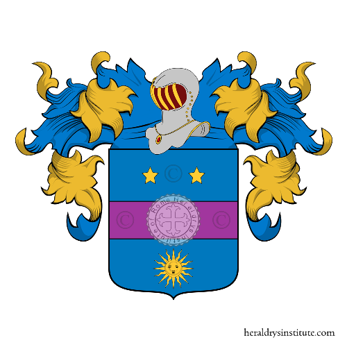 Coat of arms of family Beta