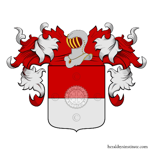 Coat of Arms of family Lanfranchi Chiccoli