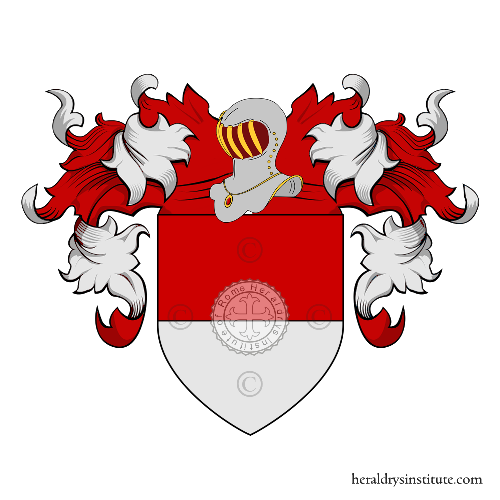 Coat of Arms of family Lanfranchi Rossi