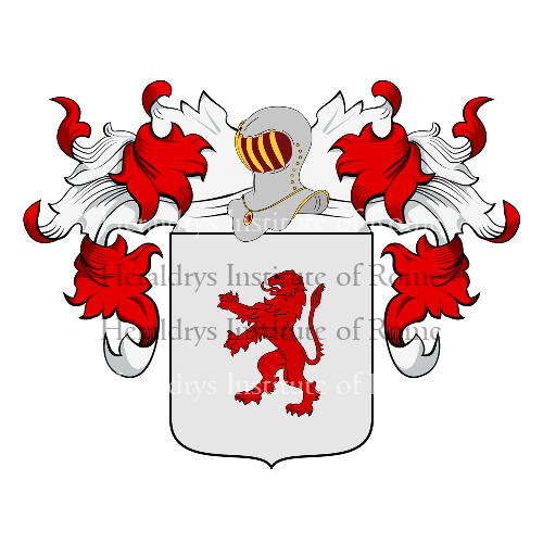 Coat of arms of family Zucco