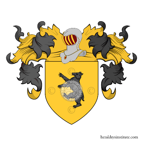 Coat of Arms of family Orso